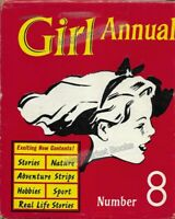 VINTAGE BOOK: GIRL ANNUAL NUMBER 8 Edited by Marcus Norris (1960)