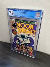 Moon Knight #1 CGC 7.5 White Pages Marvel 1980 1st Appearance Of Raoul Bushman