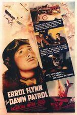 THE DAWN PATROL Movie POSTER 27x40 Errol Flynn David Niven Basil Rathbone Donald