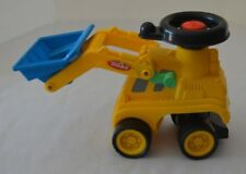 Tonka Tractor Plastic with Scoop Yellow