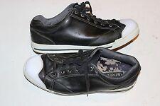 ORIGINAL FOOTJOY STREET GOLF SHOES 56421 SZ 11 WIDE BLACK LEATHER SOFTSPIKE