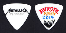 Metallica By Request Europe Robert Trujillo Bass Guitar Pick 2014 Tour