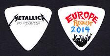 Metallica By Request Europe Robert Trujillo Bass Guitar Pick 2014 Tour