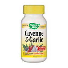 Cayenne Garlic 100 Caps by Nature's Way