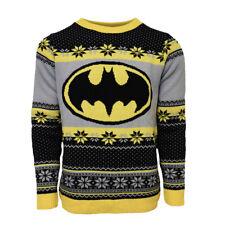 Jersey De Navidad oficial De Batman/Feo Suéter-Reino Unido M/US S-Como Nuevo