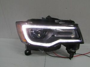 2016-2019 JEEP GRAND CHEROKEE OEM RIGHT XENON HID BLACK SRT HEADLIGHT W/O AFS T1