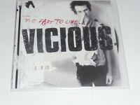 (Sid) Vicious (Sex Pistols) - Too fast to live (PROMO CD Album)