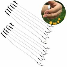 6pcs Carp Fishing Rigs Barbless Size 6 8 10 Hook Tackle Hair Fishing Accessories