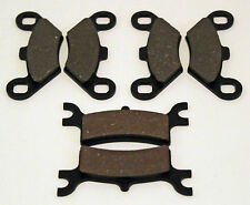 2002 Polaris 700 Sportsman 4X4 Front & Rear Brakes Brake Pads