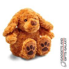 Snuggly chiot chien peluche jouet de chaleur en micro-ondes bouteille d'eau chaude gadget cadeau enfant