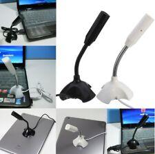 USB Desktop Wired Studio Speech Microphone Mikrofon for PC Laptop Black A5CX
