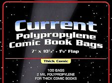 50 Current Comic THICK Bags and Boards - NEW - Assembled