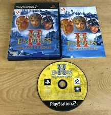 Age of Empires II: The Age of Kings (Sony PlayStation 2, 2001) Game Complete