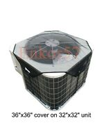 Mesh Air Conditioner Cover Outdoor - Top Summer Central AC Defender for Outside