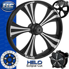 RC Helo Eclipse Custom Motorcycle Wheel Yamaha Raider Metric Cruiser  21""