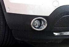New Chrome Front Fog Light Foglamps Cover Trim 2pcs For Ford Explorer 2011-2014