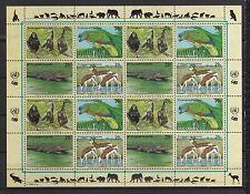UNO New York 1994 postfrisch MiNr.  663-666  Gefährdete Arten
