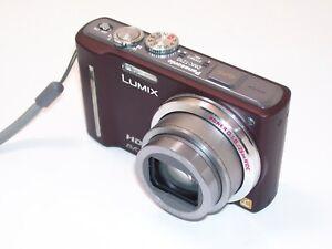 Panasonic LUMIX DMC-TZ10 12.1MP Digitalkamera - Braun