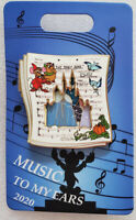 NEW Cinderella Music To My Ears 2020 Disney Cast Exclusive Pin LE 800 Fast Ship