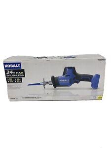 Kobalt (KRS 124B-03) - 24v Max Cordless Reciprocating Saw - Tool Only...NO BLADE