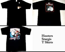 4 Hooters Uniform T-Shirt XXL Sturgis from Harley Bike Rally 2 Fatboy 2 Flag
