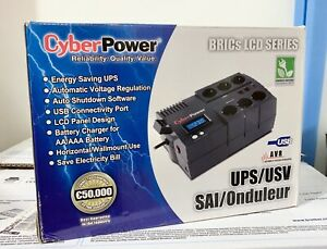 CyberPower UPS BR850ELCD 850VA 510W - Line interactive - No battery
