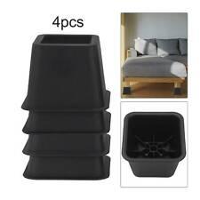 4* riser chair feet Heavy  Bed Chair Risers Feet Leg Extra Raisers Stand