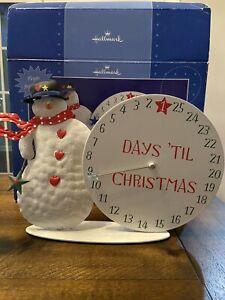Hallmark Musical Countdown Advent Calendar Plays Jingle Bells Used With Box