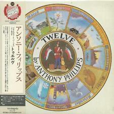ANTHONY PHILLIPS - PRIVATE PARTS & PIECES V: TWELVE 2007 JAPAN MINI LP CD
