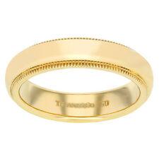 Echte Edelmetall-Ringe ohne Steine im Band-Stil aus Gelbgold für Damen