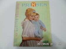 PRINSES revue de mode tricots bébé enfant en néerlandais 88 modèles