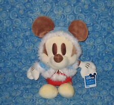 New Disney Sega Fun Fan Amuse Mickey Mouse Plush Chocolate Color Winter Coat 13""