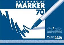 Frisk Bleedproof Marker Pad - A2