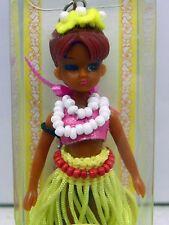 2000 Rare Takara Hula Girls Mini Doll Phone Charm w/ Strap Mint In Pkg Licca #2