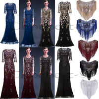 Long Prom Dresses 1920s Dress Flapepr Costumes Party 20s Evening Gowns Plus Size