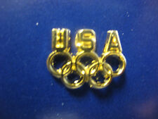 Olympic Team USA Pin - Gold Colored Rings