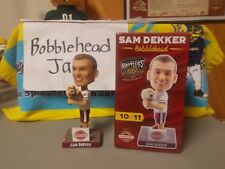 NIB 2017 SAM DEKKER BRATZOOKA TIMBER RATTLERS BREWERS BOBBLEHEAD SGA WIZARDS