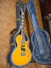 Epiphone by Gibson Nighthawk Custom reissue Trans Amber color W/  hardshell case
