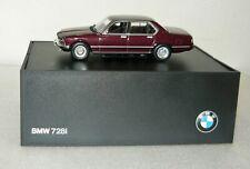 BMW Händlermodell 80420390514, BMW 728i, bordeaux metallic, 1/43, NEU&OVP