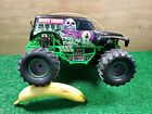 """New Bright Monster Jam Grave Digger RC Without Remote Control 12""""  For Parts"""