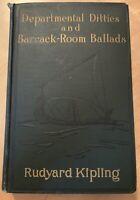 DEPARTMENTAL DITTIES & BARRACK ROOM BALLADS - RUDYARD KIPLING - 1915 ***********
