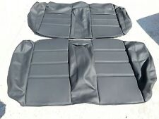 BMW M3 E30 325i 318i 325is M3 REAR SEAT KIT M3 BLACK BEAUTIFUL KIT 100% LEATHER