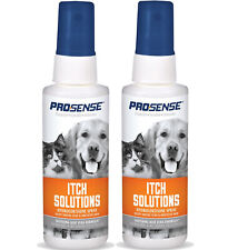 Itch Relief Solutions Hydrocortisone ٍSpray with Aloe for Pets Dogs Cats 2 Pack