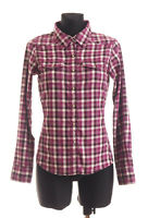 THE NORTH FACE Women's Purple checked long sleeved Shirt Size XS