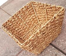 Vintage + Traditional Shopping Picnic Wicker Basket Storage Bag Display Ornament