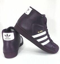 ADIDAS Pro Model High Top Shoes Sneakers Purple Mens AC7646 US 10.5 EU 44 2/3