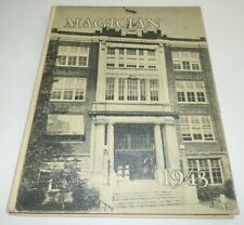 Magician 1943 Muncie Central Senior High School Year Book Yearbook Indiana IN