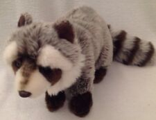 Webkinz Signature RACCOON Plush Toy Brown Gray White 1004 No Code Collectible