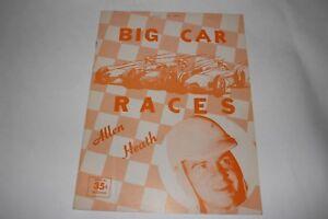 Midget Car Auto Racing Program, National Championship Ascot Park, June 1961