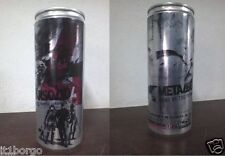 BRAND NEW METAL GEAR SOLID 4 LATTINA can PROMO energy drink